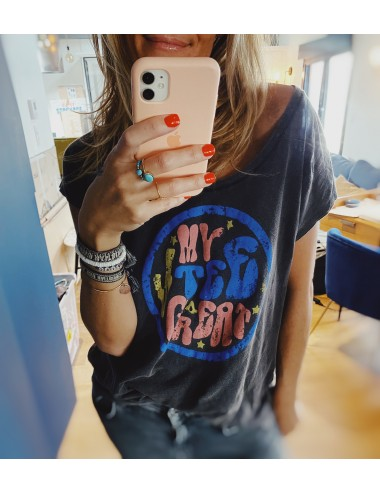 T-SHIRT GINETTE CARBONE