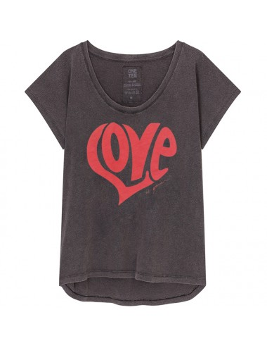 T-SHIRT ANNA CARBONE ROUGE