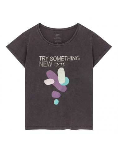 T-SHIRT PRUDENCE CARBONE