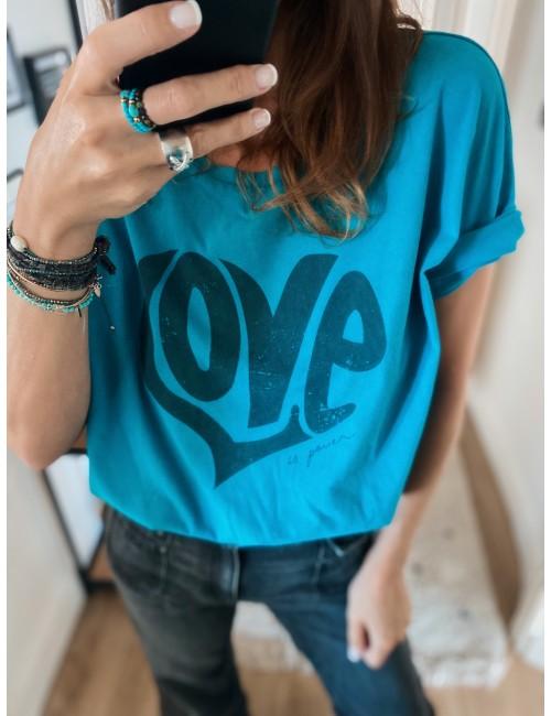 T-SHIRT ANNA BLUE PRINT...